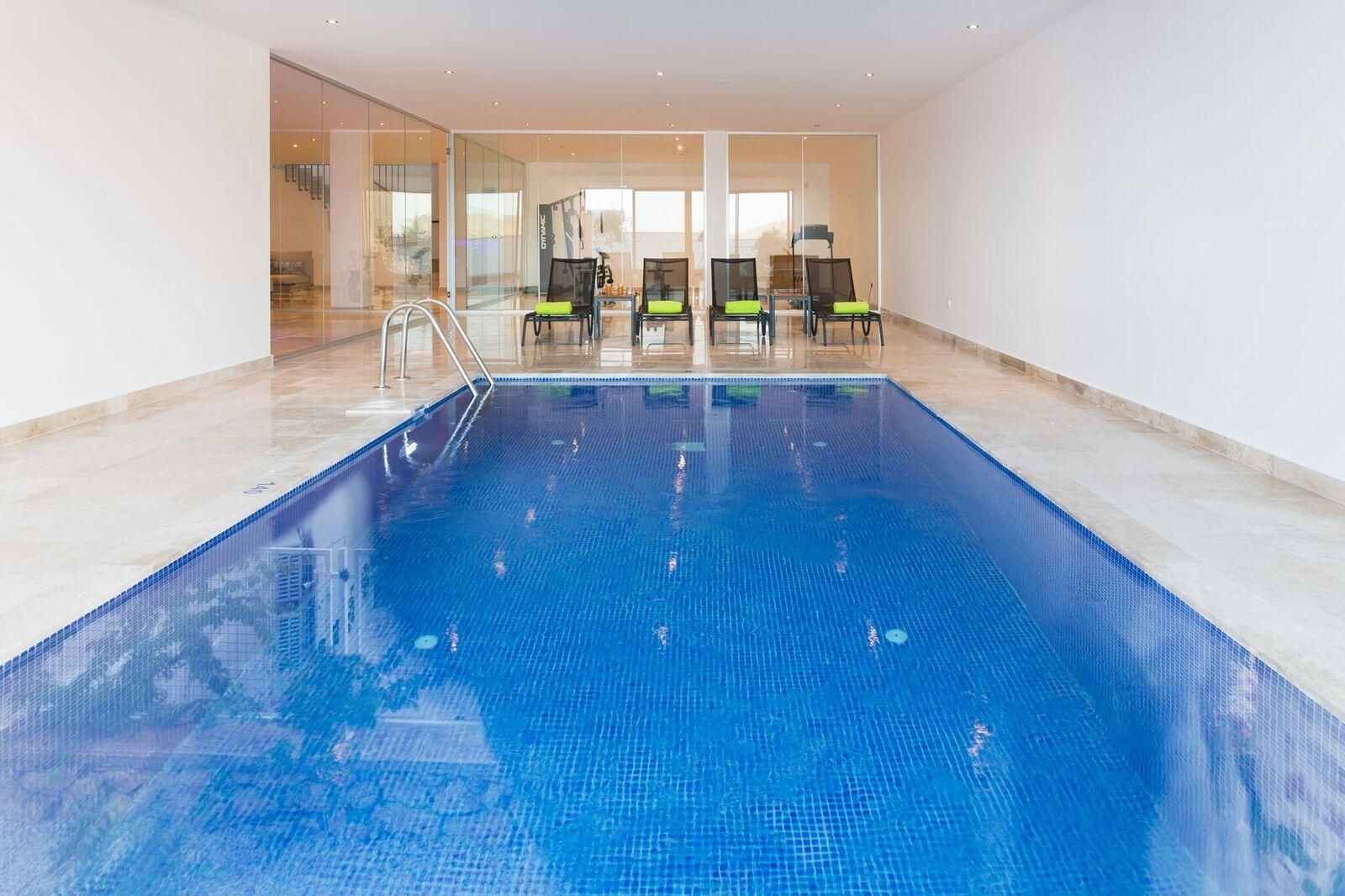 Indoor Pool (can be heated at extra cost)