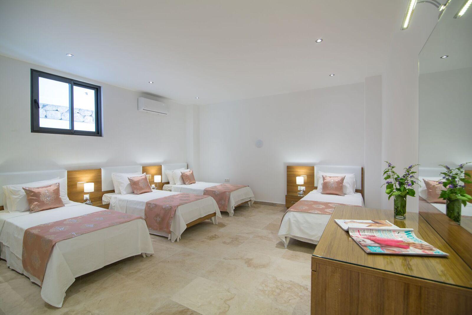 Bedroom 5 - Quad Room - Basement Floor