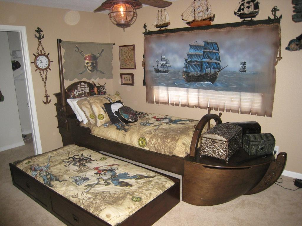 Pirates Themed Kids Bedroom