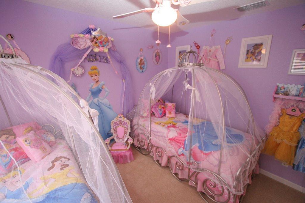 Princess Themed Kids Bedroom