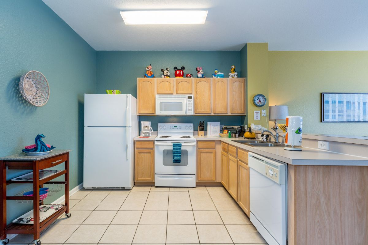 We provide a fully equipped kitchen with everything you