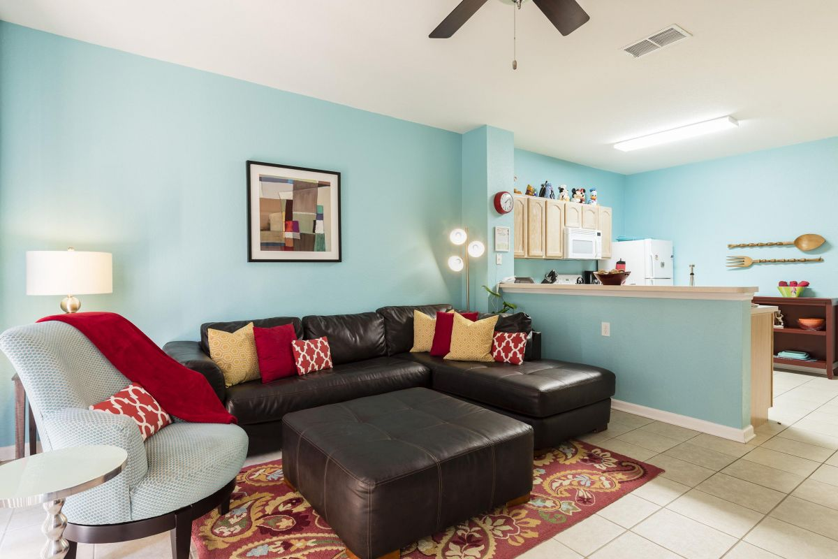 Our regularly updated and fully furnished townhome offers comfort and luxury.