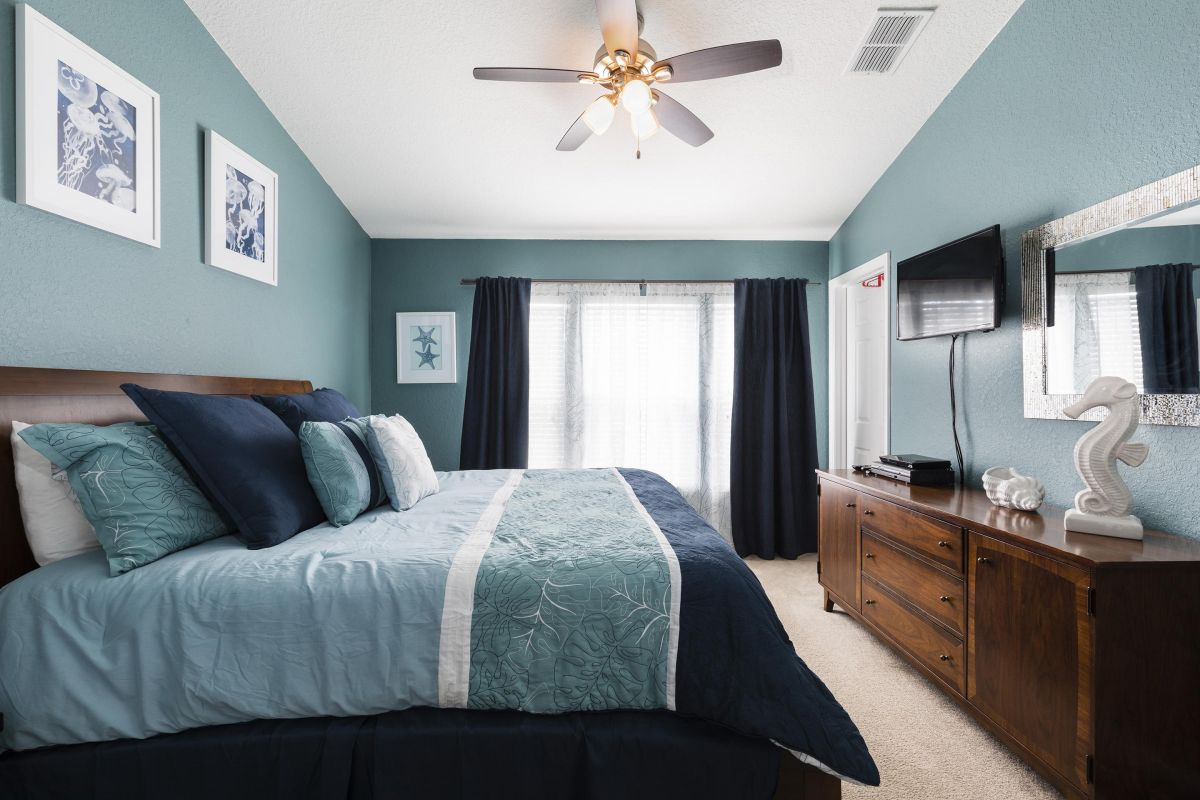 All bedrooms have their own 32-inch flat-screen high definition TV + DVD player.