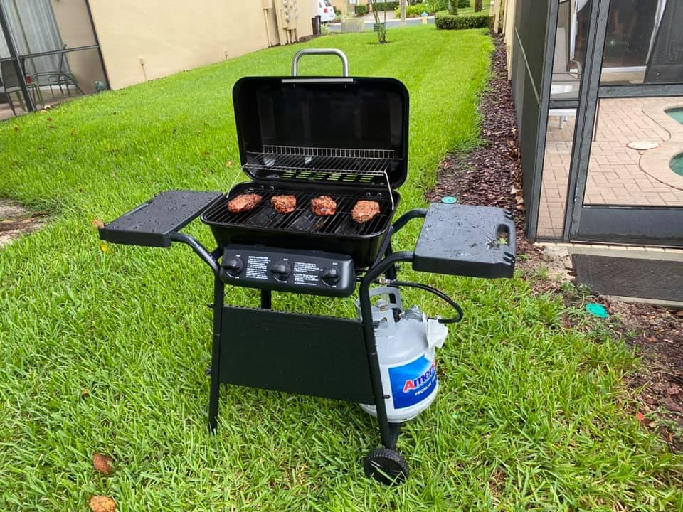 Gas Grill On Property - No Cost