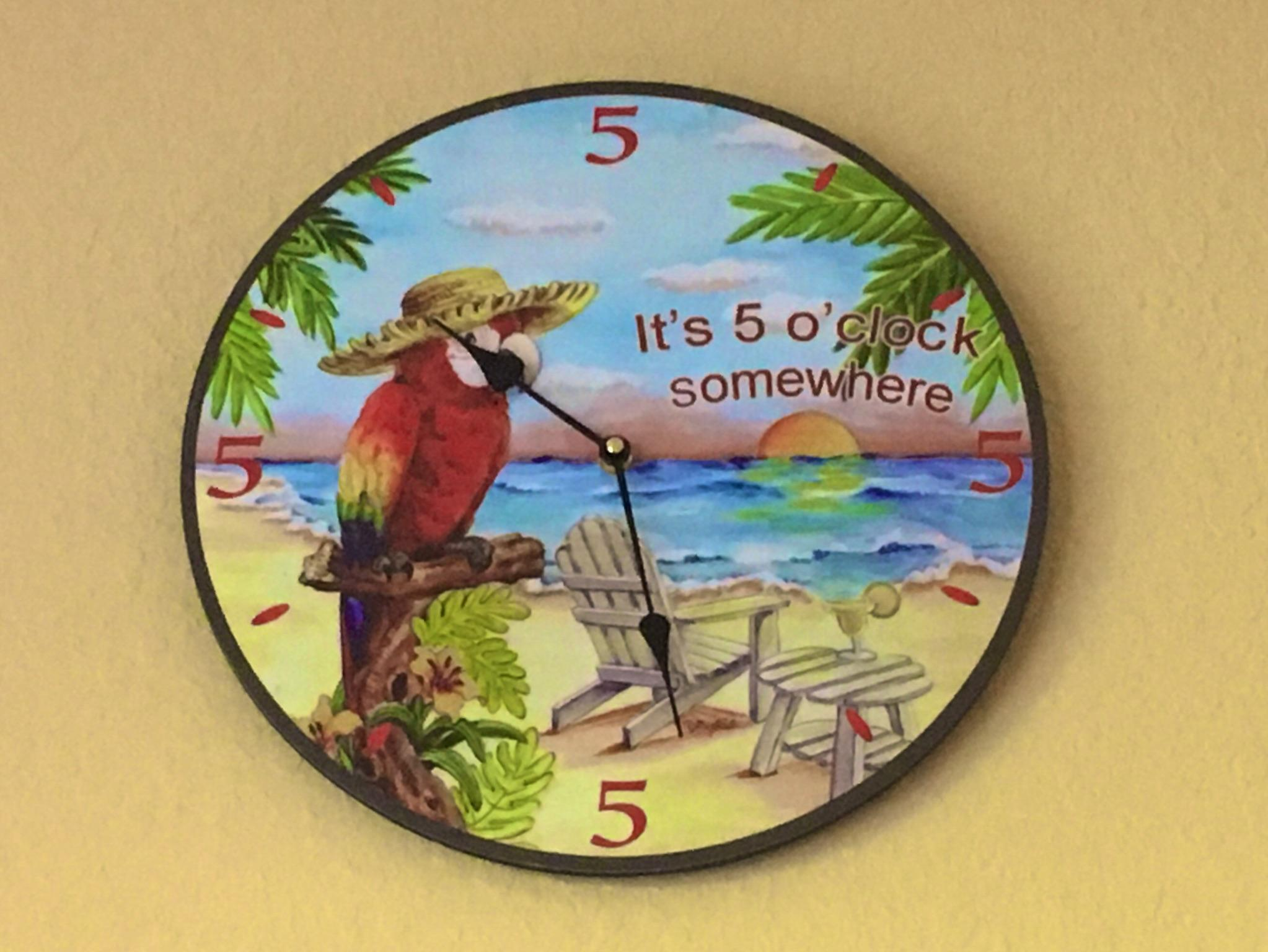 It's Always 5 o'clock at Palm Tree Paradise!