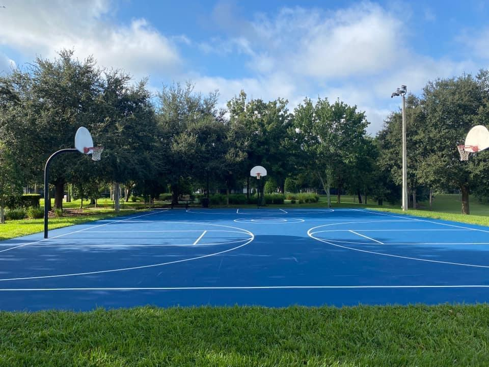 Closest condo to the tennis & basketball courts