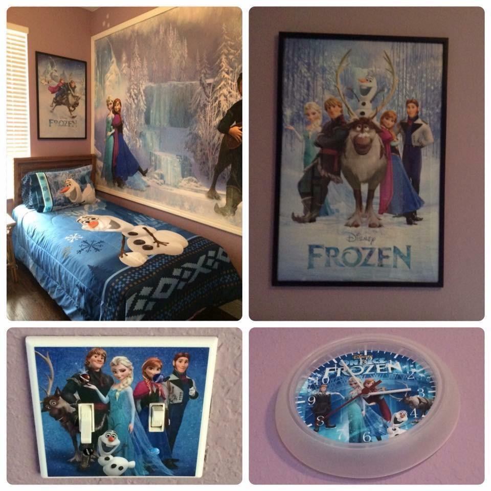 Frozen Fun In Kids' Bedroom
