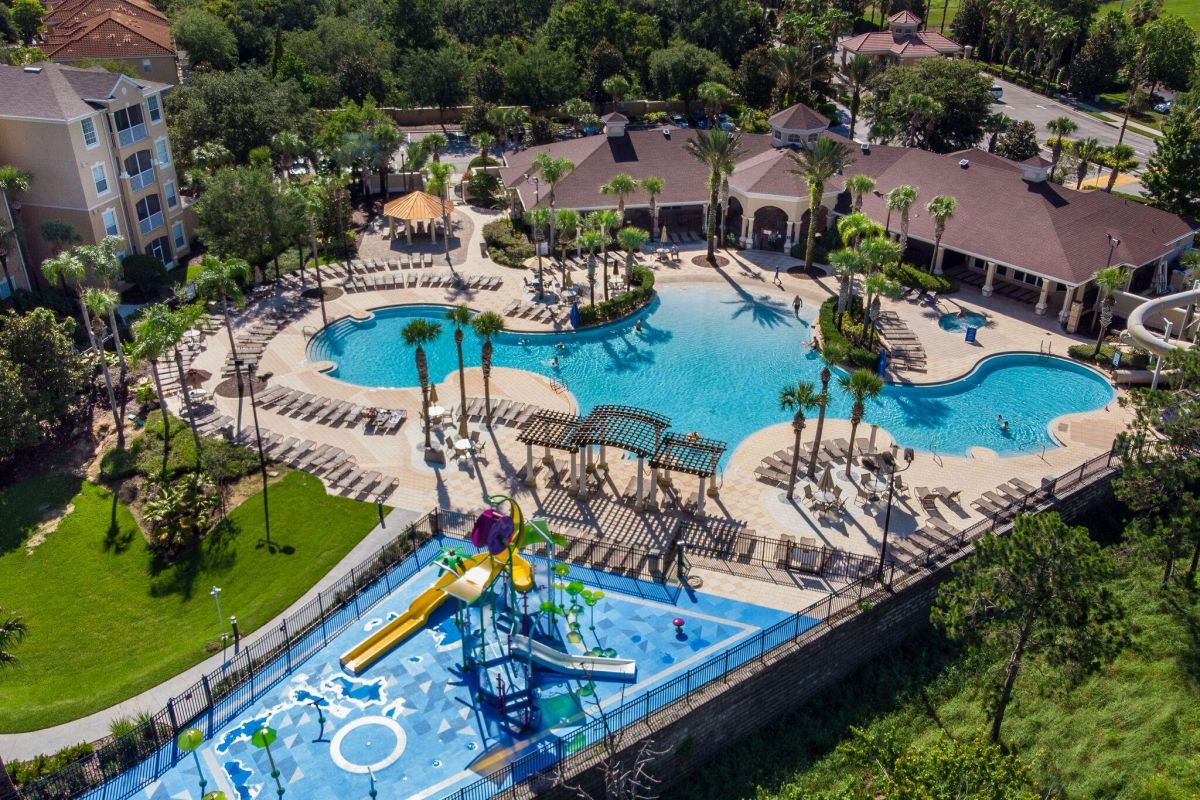 New water park and lagoon pool - a short walk away