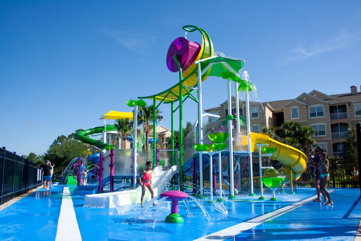 Splash Pad and Water Play for Smaller Guests