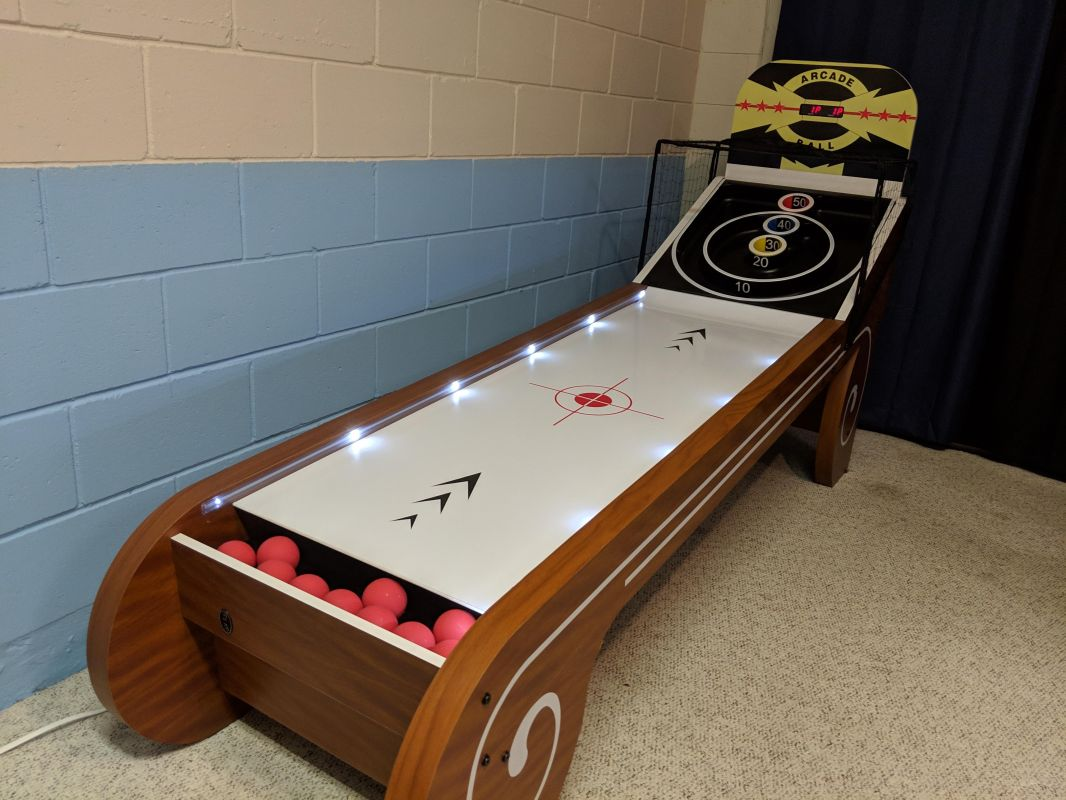 Skee Ball in Games Room