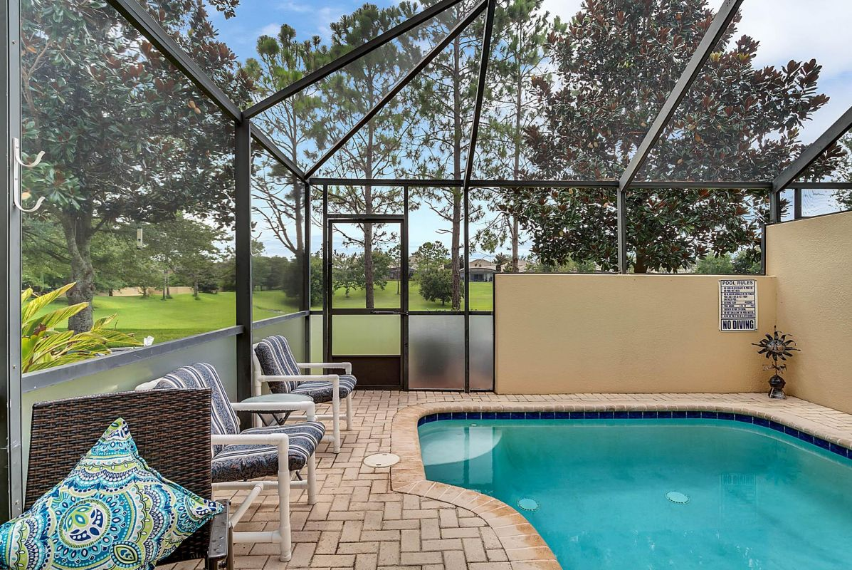 Private Heated Pool - End Unit