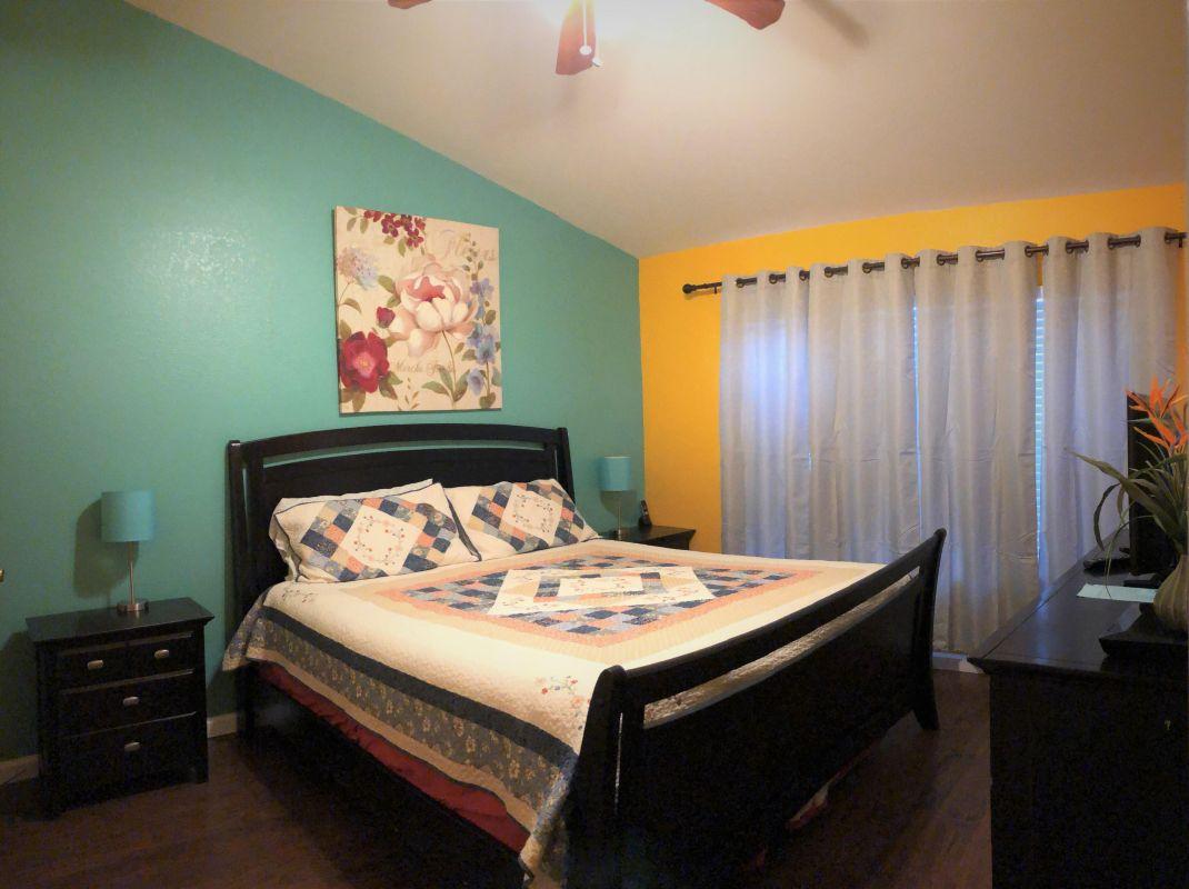 Master Bedroom upstairs