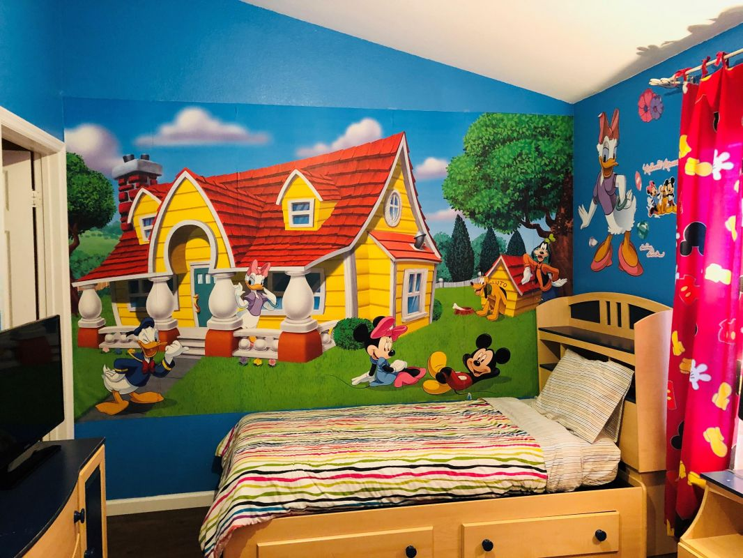 Kids Bedroom upstairs