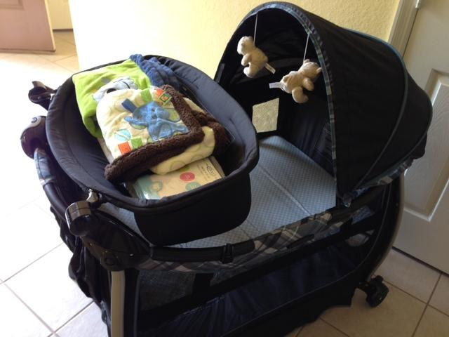 ack and Play Crib/Play Pen, Highchair, Stroller & Toddler Car Seat Available