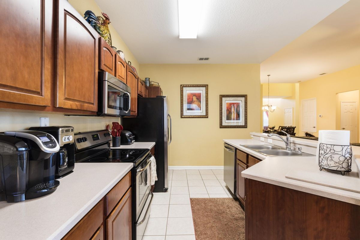 Recently Remodeled Kitchen Fully Stocked and Ready for Entertaining