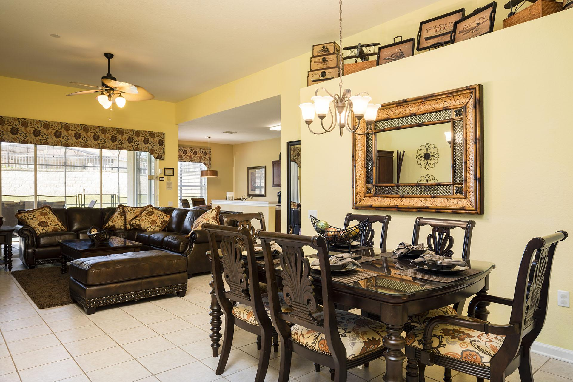 Open Living Area Perfect for Family and Friends Gathering