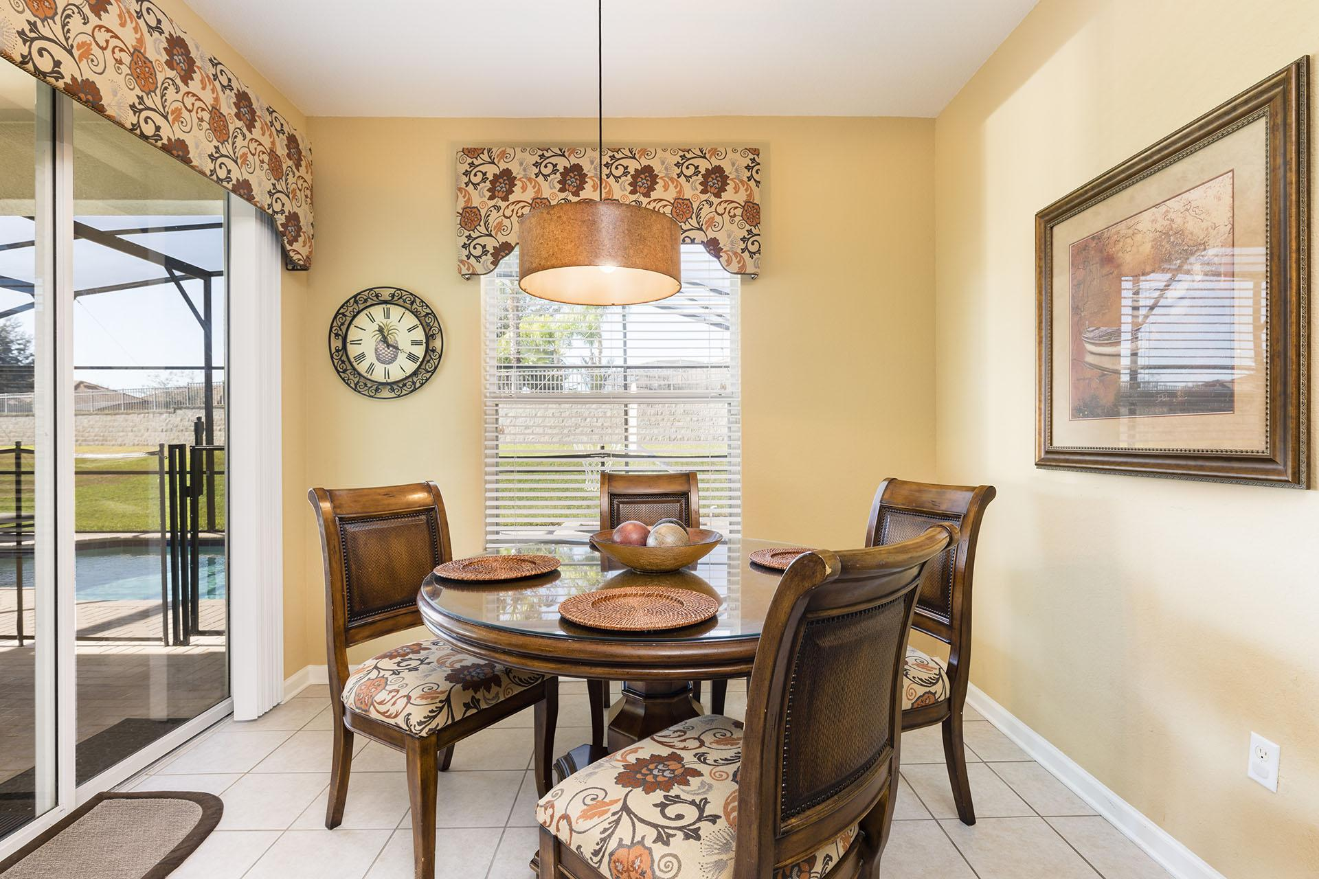 Cozy Dining Area with Seating for Four