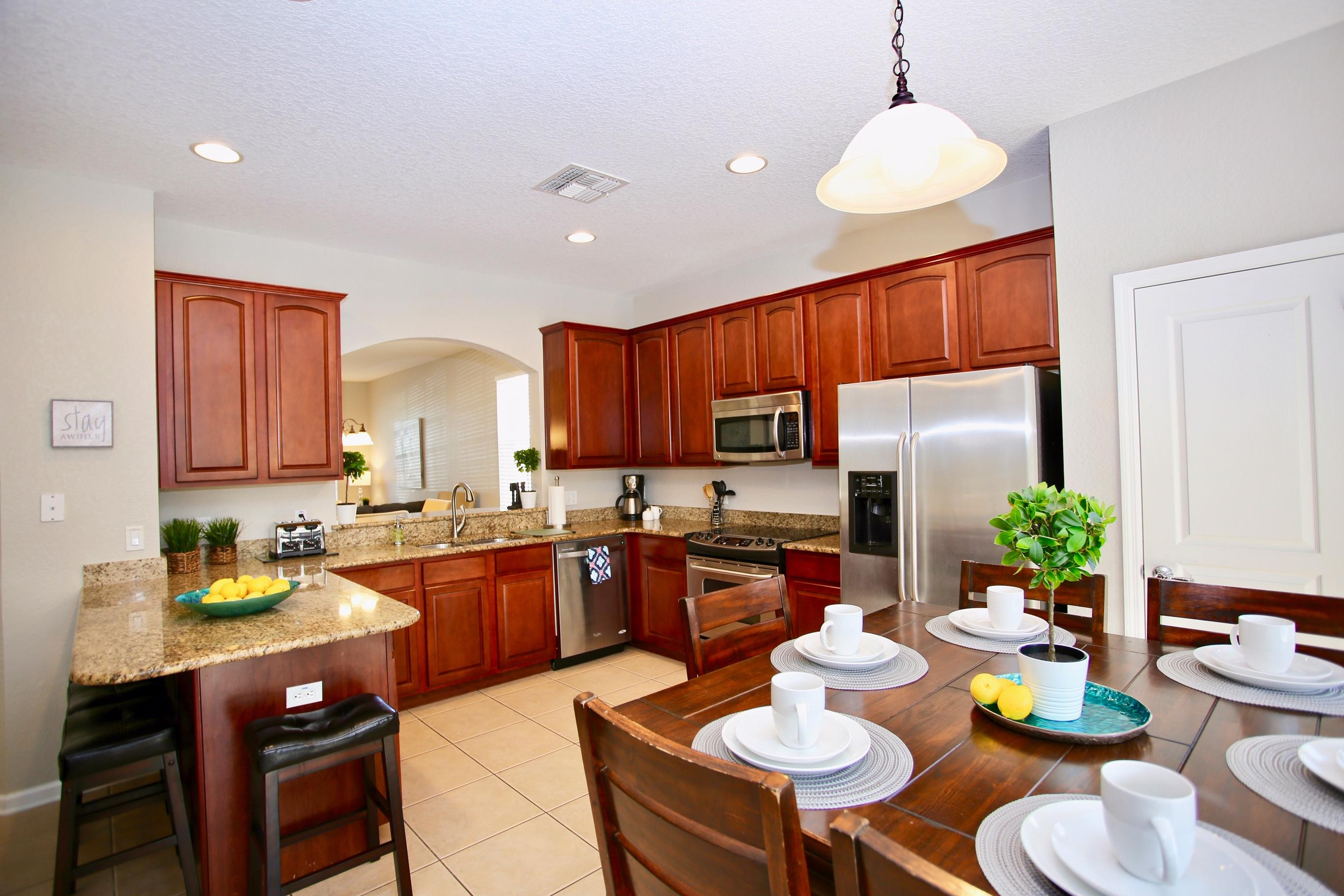 Large Kitchen for gathering
