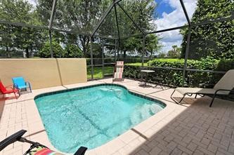 West facing pool with no direct facing neighbors