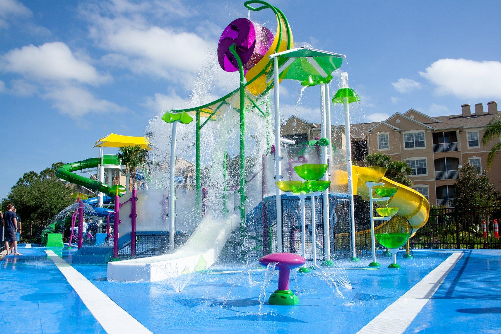 brand new water play zone