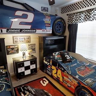 NASCAR fans this is THE Room.