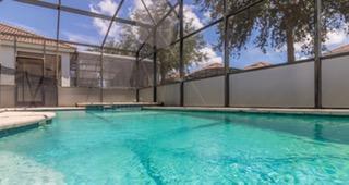 Huge south facing pool and spa
