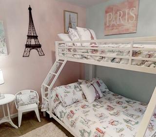 Room for princess� Paris style