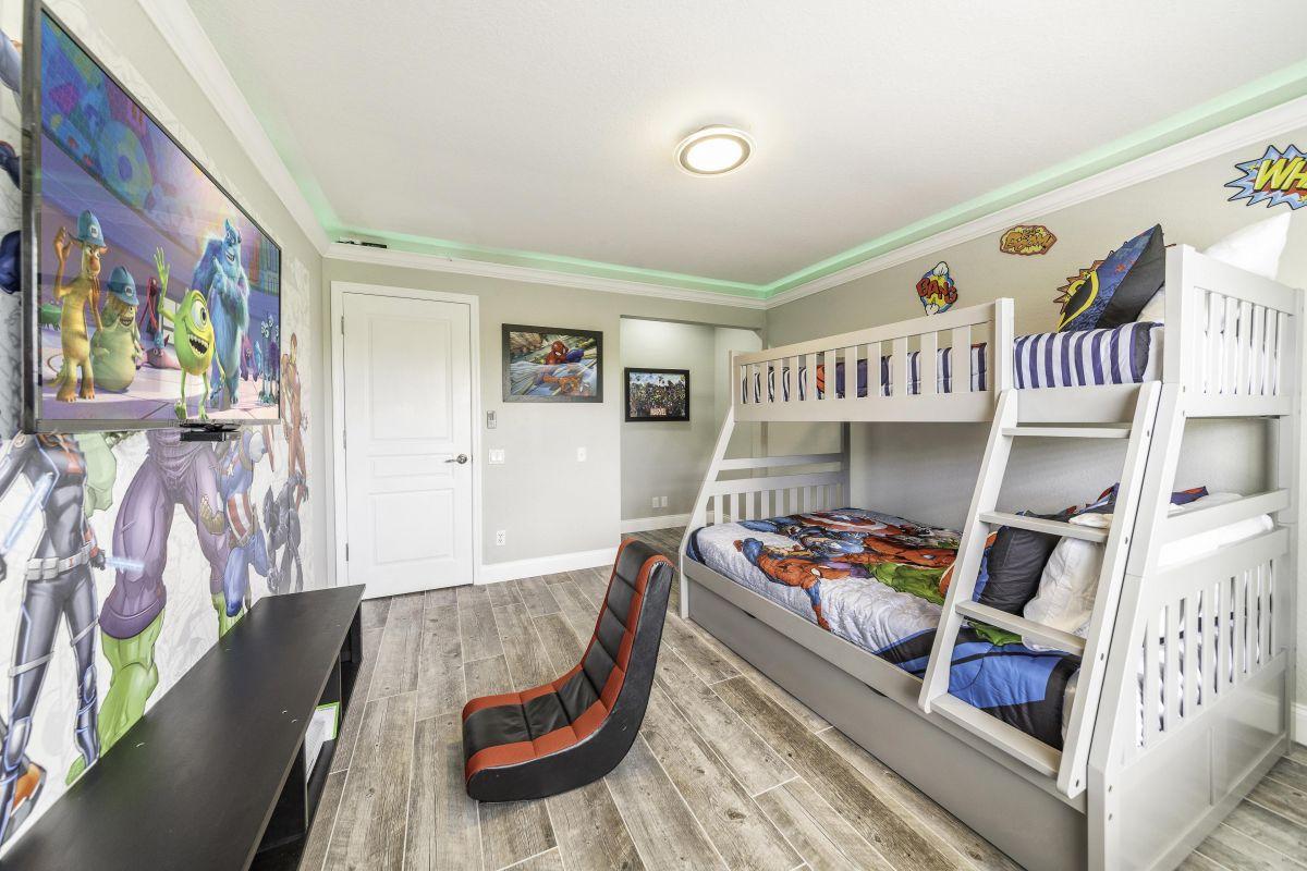 Super Hero Themed Bedroom 1