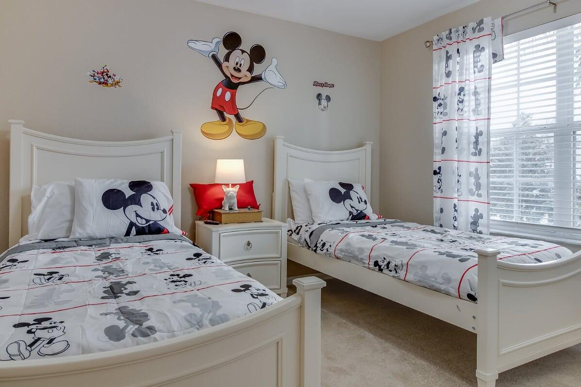 Kids love our Disney Bedrooms!