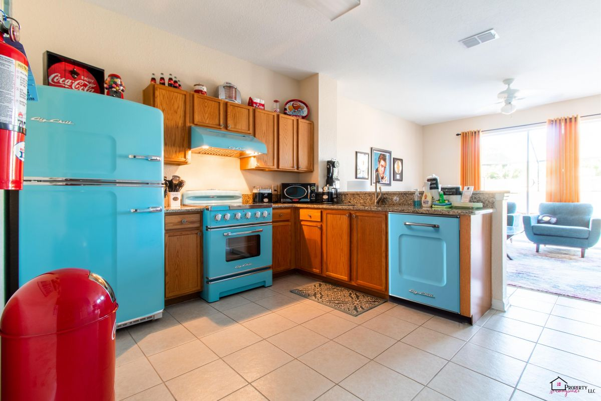 Well equipped kitchen � All the appliances you will need for your stay