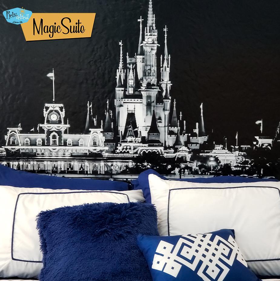 First floor MAGIC SUITE Queen size bed