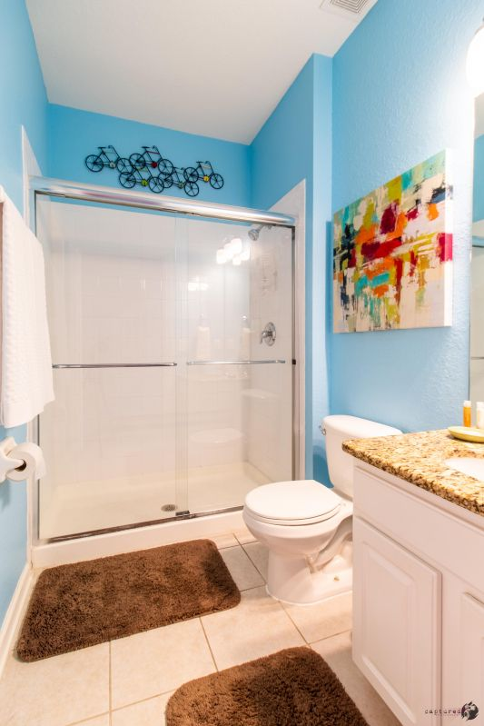 First floor full-bathroom with shower