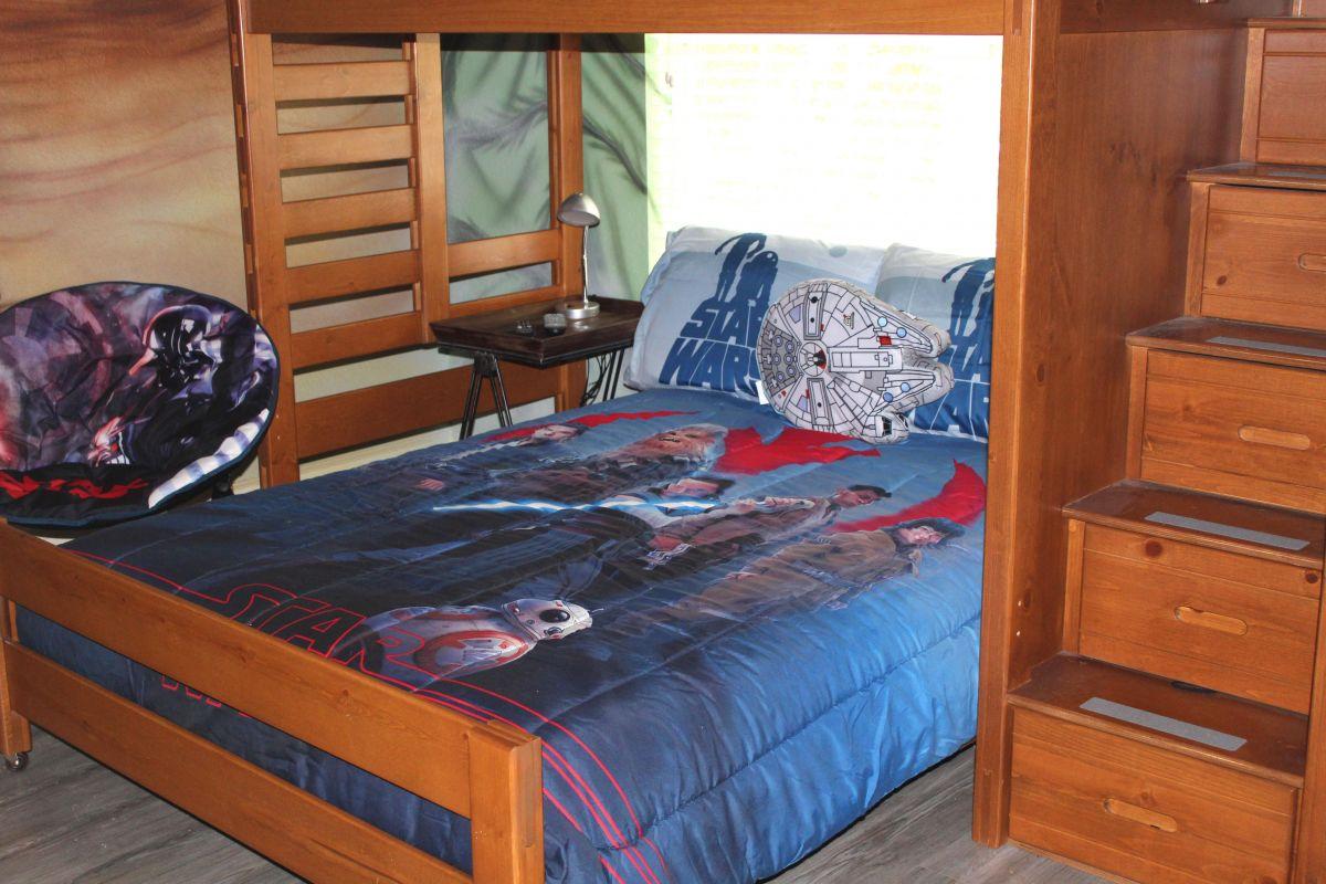 Star Wars Bedroom Full bed
