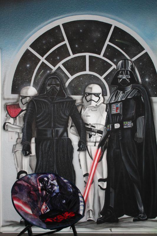 Star Wars bedroom - Dark Side