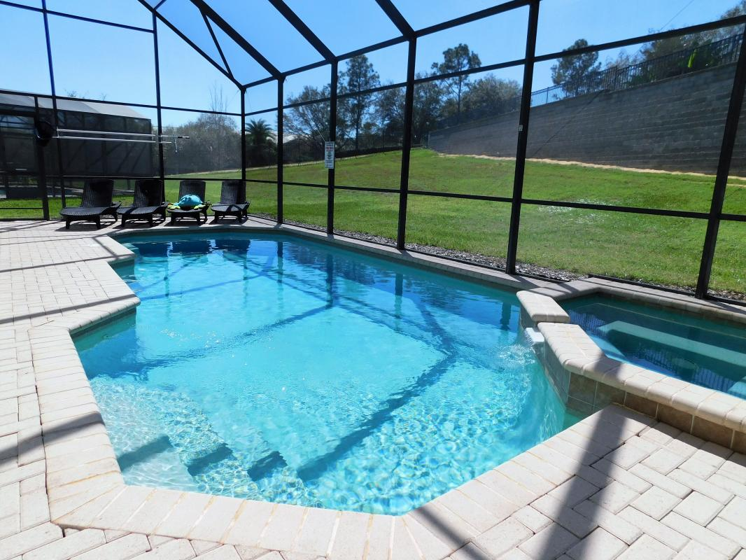 Soak up the rays by the southwest facing pool!