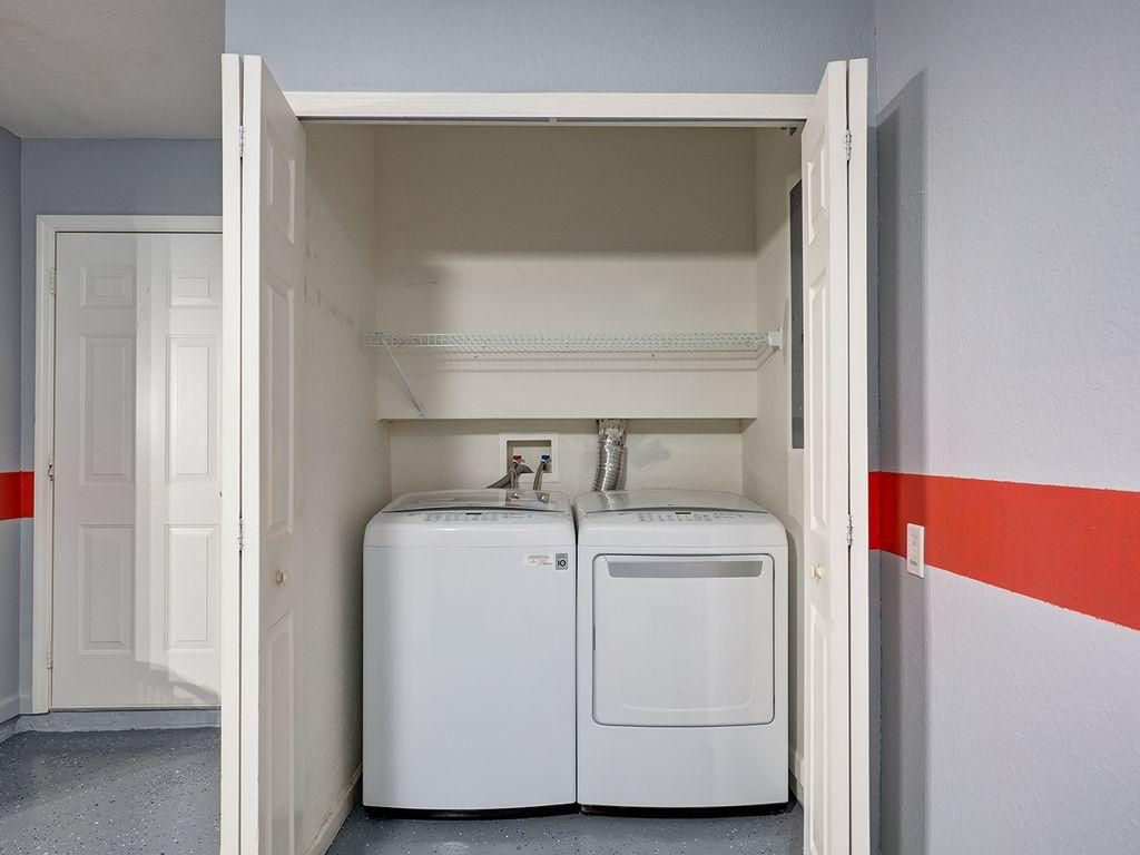 Extra larger washer and dryer