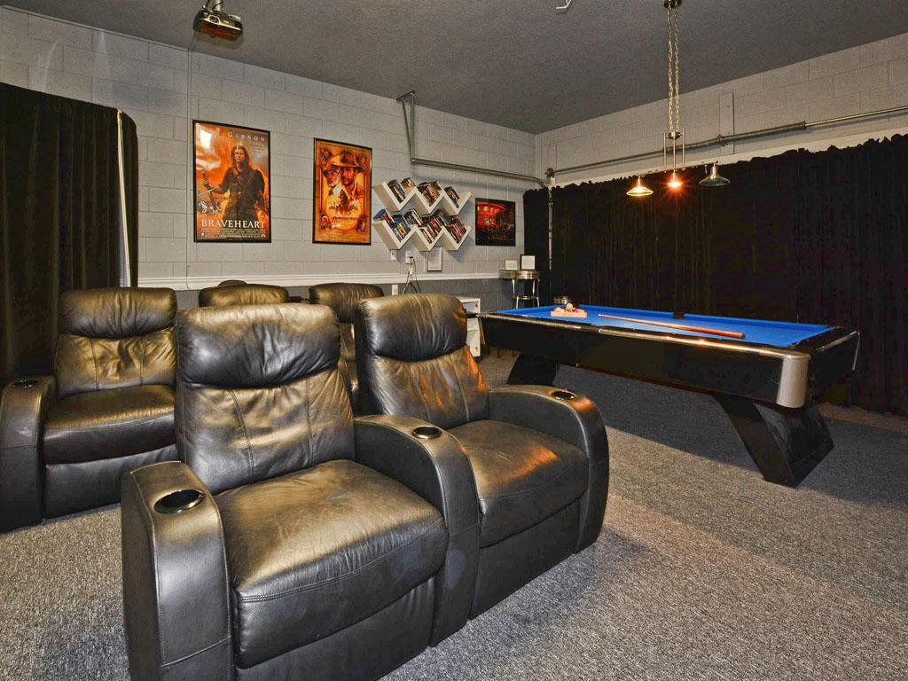 Game Room/Theater