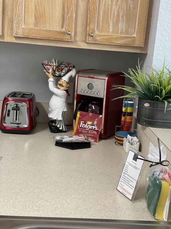 Tea / Coffee station
