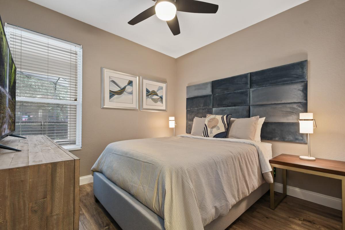 Bedroom 1:  1st Floor Master - Queen
