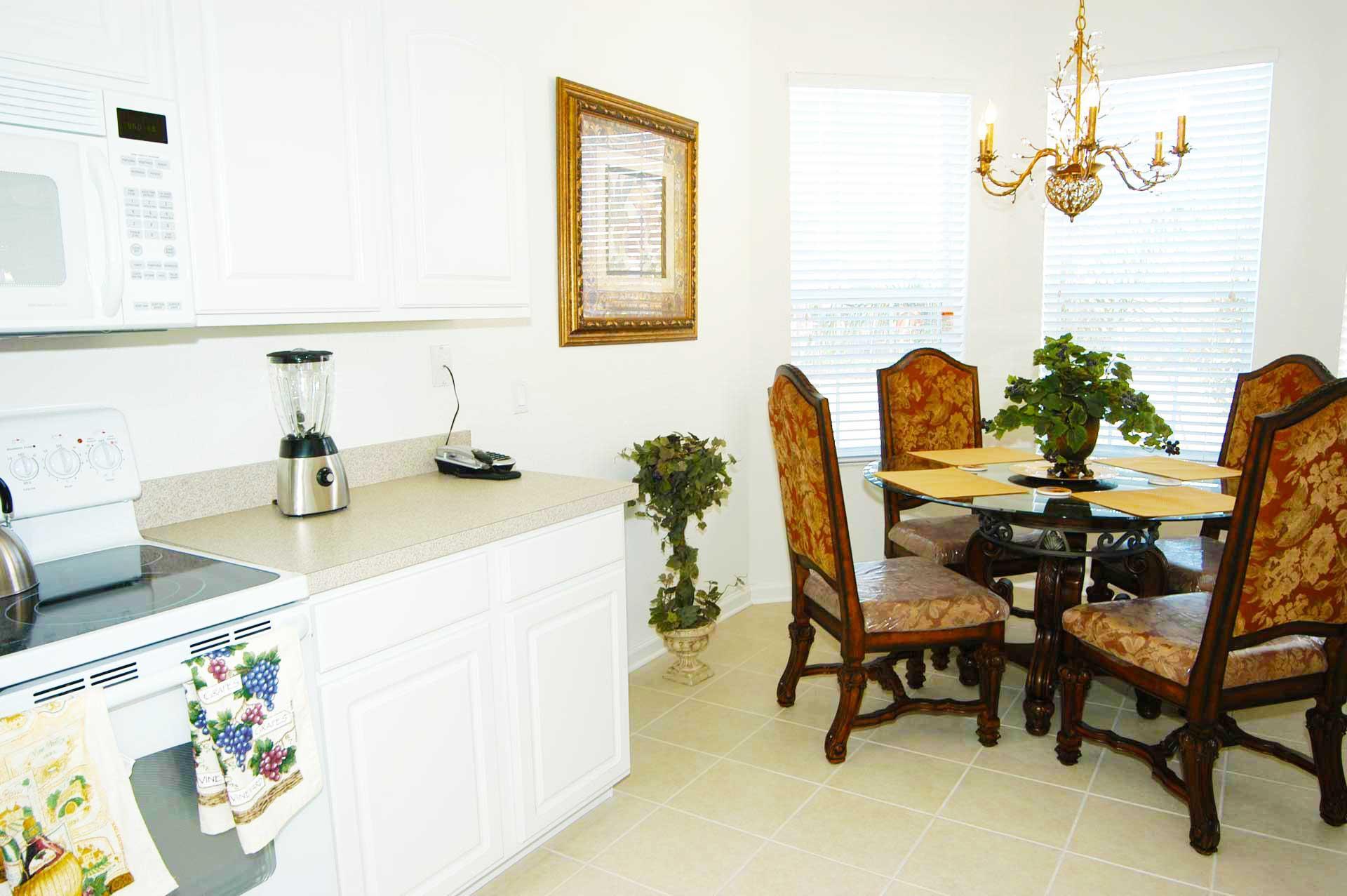Kitchen and Breakfast Nook
