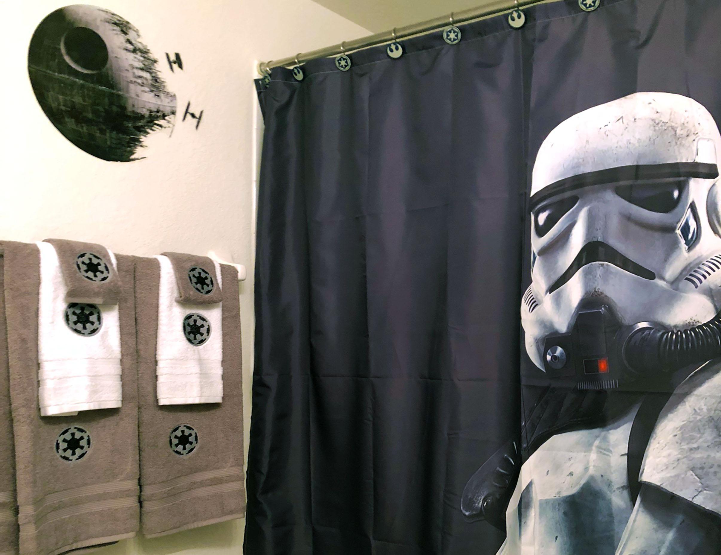 Star Wars Themed Bathroom Suite