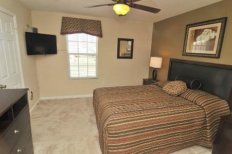 Delightful Second Master Bedroom with Queen Size Bed